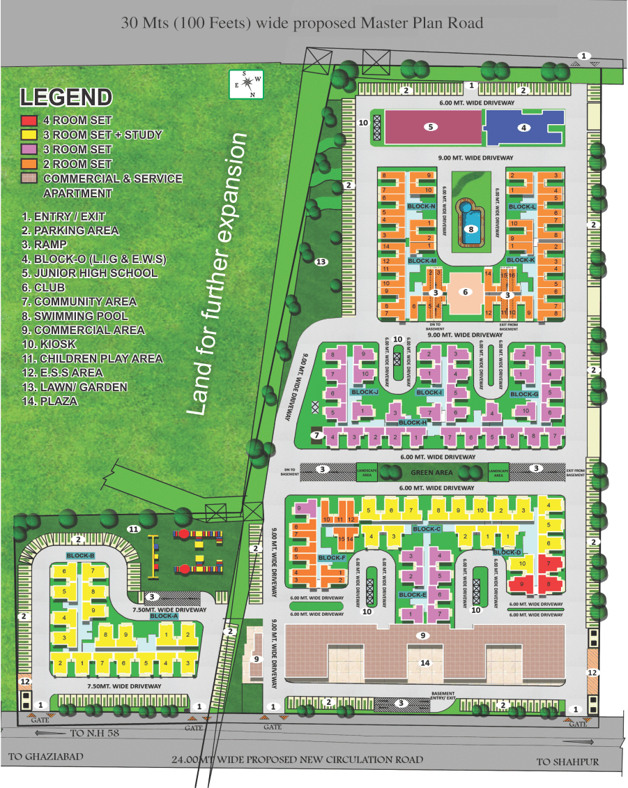 Diya GreenCity Site Plan